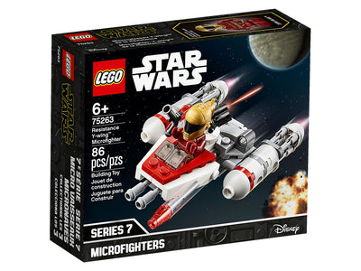 You added <b><u>Lego Star Wars Resistance Y-Wing Microfighter 75263</u></b> to your cart.