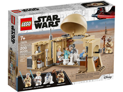 You added <b><u>Lego Star Wars Obi-Wan's Hut 75270</u></b> to your cart.