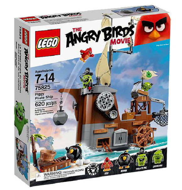 Lego Angry birds Piggy Pirate Ship 75825