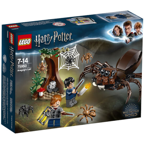 LEGO Harry Potter Aragog's Lair 75950
