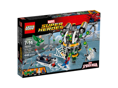 You added <b><u>Lego Marvel Super Heroes Spider-Man Doc Ock's Tentacle Trap 76059</u></b> to your cart.