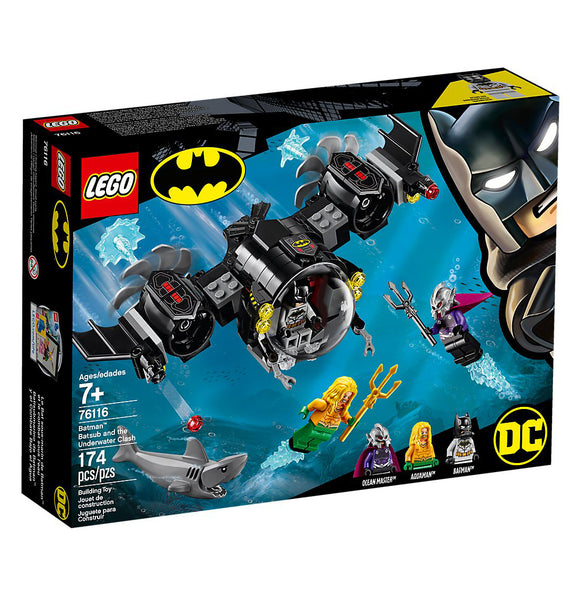 Lego DC Super Heroes Batman Batsub & the Underwater Clash 76116