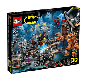 Lego DC Comics Super Heroes Batcave Clayface Invasion 76122