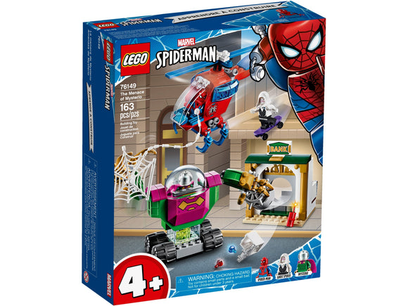 Lego Marvel Spiderman The Menace of Mysterio 76149
