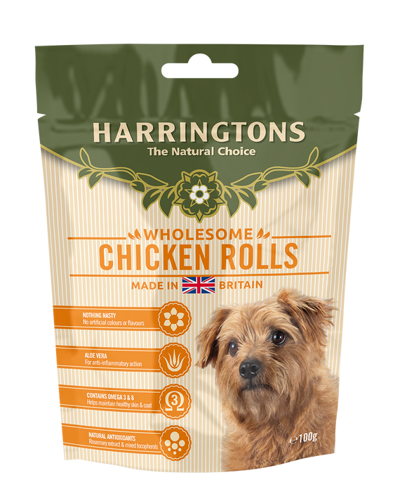 Harringtons Chicken Rolls 100g