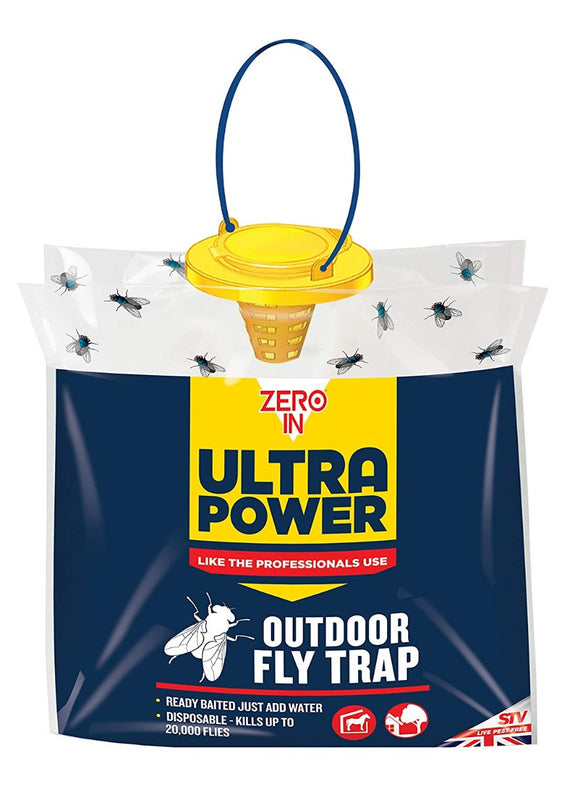 Zero-In Ultra Power Fly Trap Disposable Bag