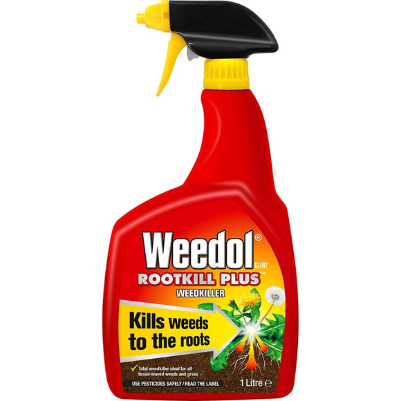 Weedol Rootkill Plus Weedkiller Spray Gun 1L