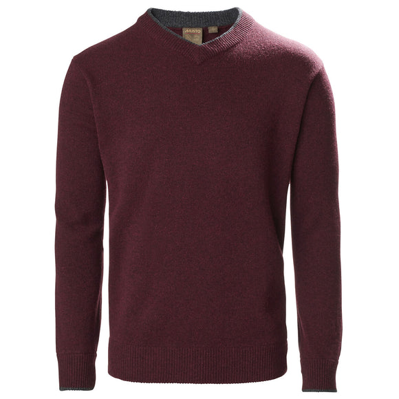 Musto Country V Neck Knit Jumper