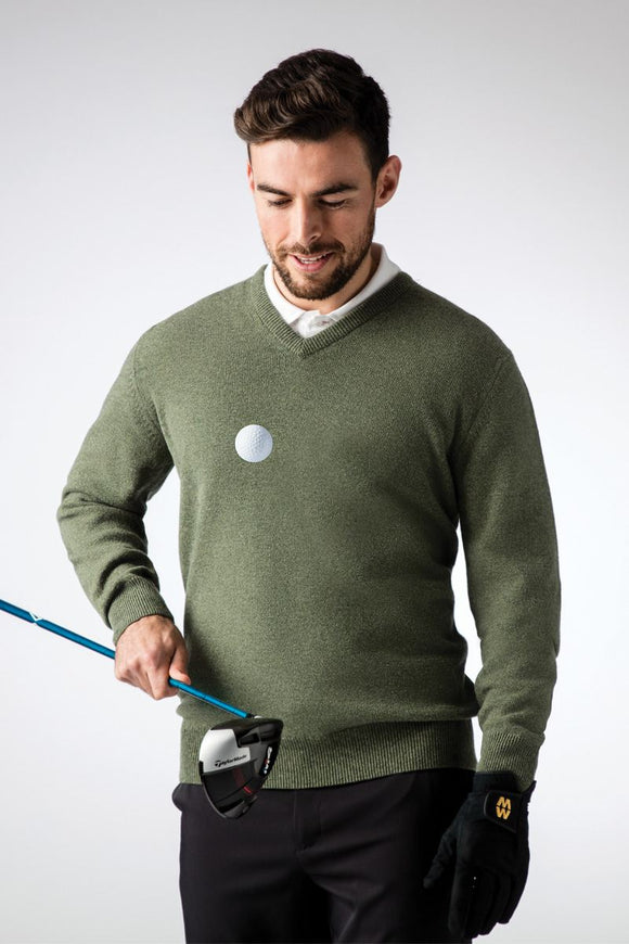 Glenmuir Lomond V Neck Lambswool Jumper