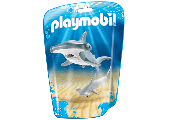 Playmobil Family Fun Hammerhead Shark with Baby 9065