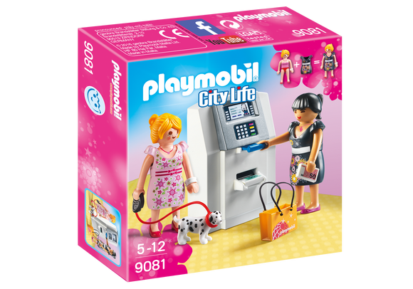 Playmobil City Life ATM Mini Bank 9081