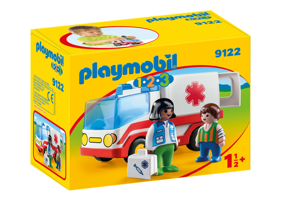 Playmobil 123 Rescue Ambulance 9122