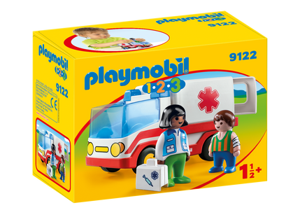 You added <b><u>Playmobil 123 Rescue Ambulance 9122</u></b> to your cart.
