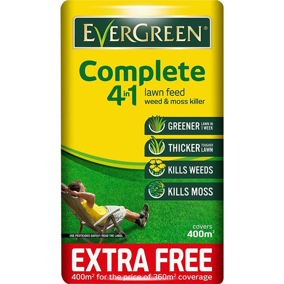 Miracle-Gro Evergreen Complete 4-in-1 14kg