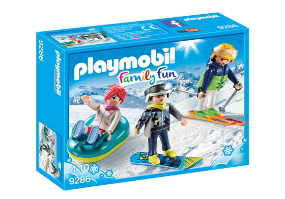 Playmobil Family Fun Winter Sports Trio 9286
