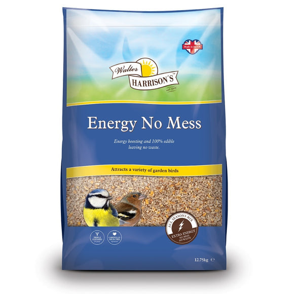 Walter Harrison's Energy No Mess Bird Seed 12.75kg