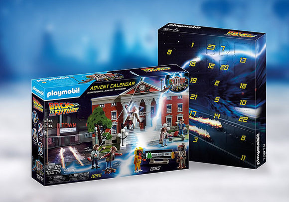 Playmobil Advent Calendar Back to the Future