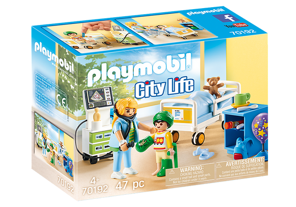 Playmobil City Life Children's Hospital Room