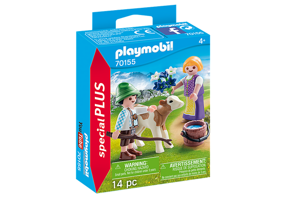 Playmobil Special Plus Children with Calf
