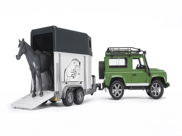 Bruder Land Rover & Trailer 02592