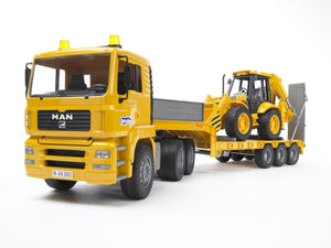 Bruder LOW Loader & JCB 02776