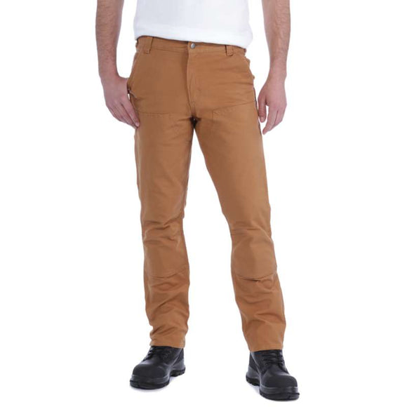 Carhartt Straight Fit Stretch Duck Double Front Trousers