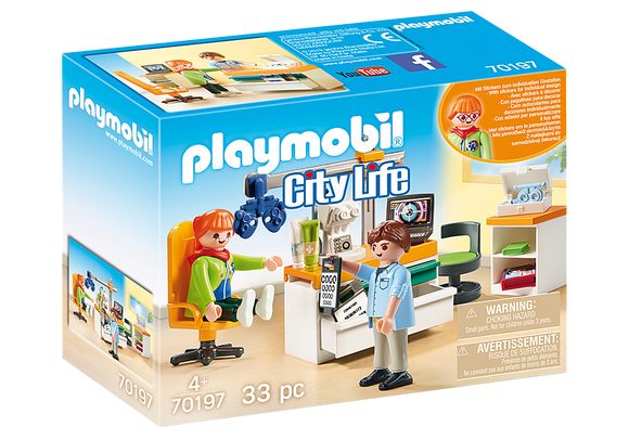 Playmobil City Life Eye Doctor