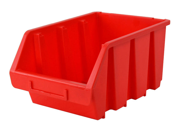 Faithfull Plastic Storage Bin 3 170 x 240 x 126mm