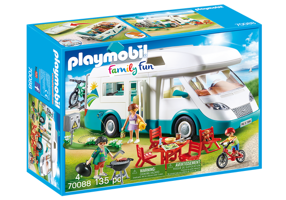 Playmobil Family Fun Family Camper