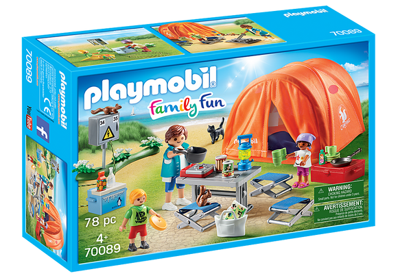 Playmobil Family Fun Family Camping Trip