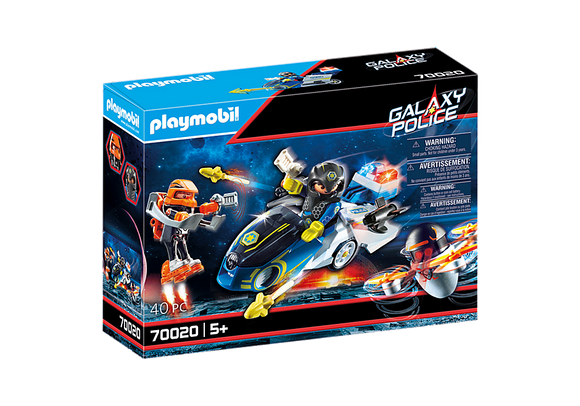 Playmobil Galaxy Police Bike