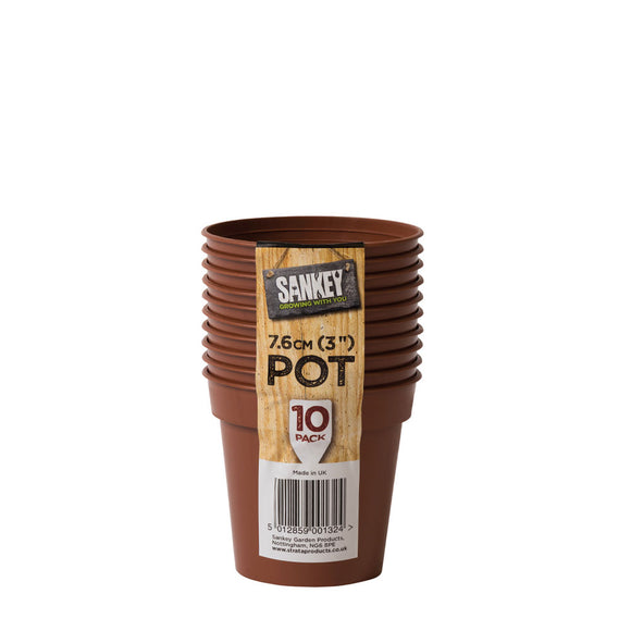 Sankey Grow Pot 7.6cm 10-Pack