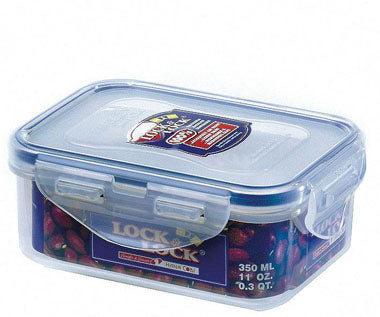 LocknLock Stackable Airtight Container Rectangular 350ml