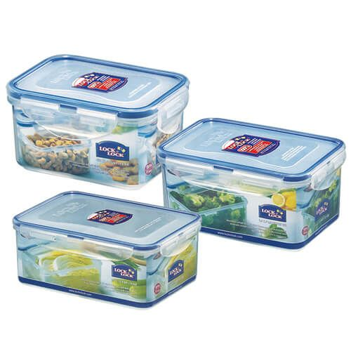 LocknLock Storage Container Set of 3