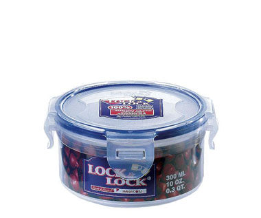 LocknLock Stackable Airtight Container Round 300ml
