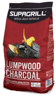 Supagrill Instant Light Lumpwood Charcoal 2.5kg