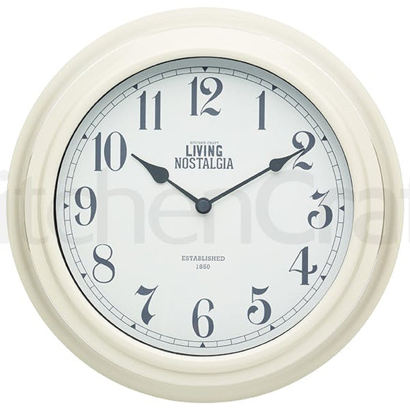 Living Nostalgia Wall Clock