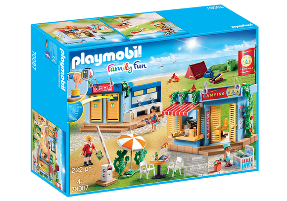Playmobil Family Fun Large Campground