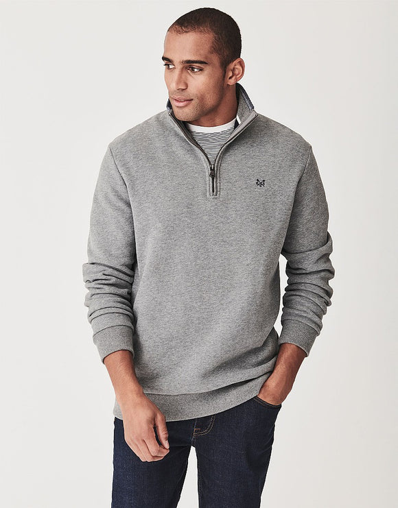 Crew Clothing Classic Half Zip Sweatshirt
