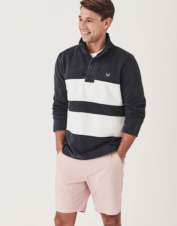 Crew Clothing Twill Panel Padstow Sweatshirt