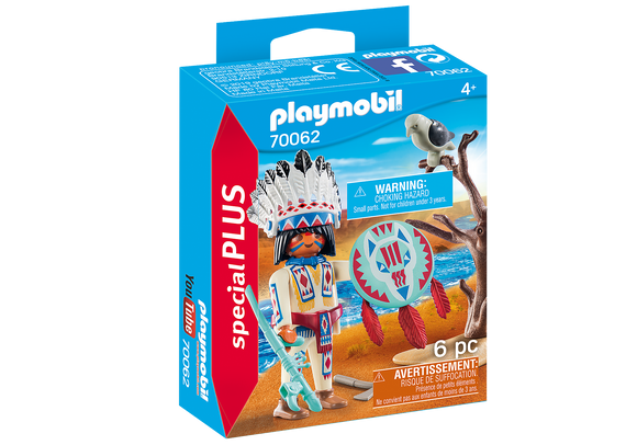 Playmobil Special Plus Native American Chief