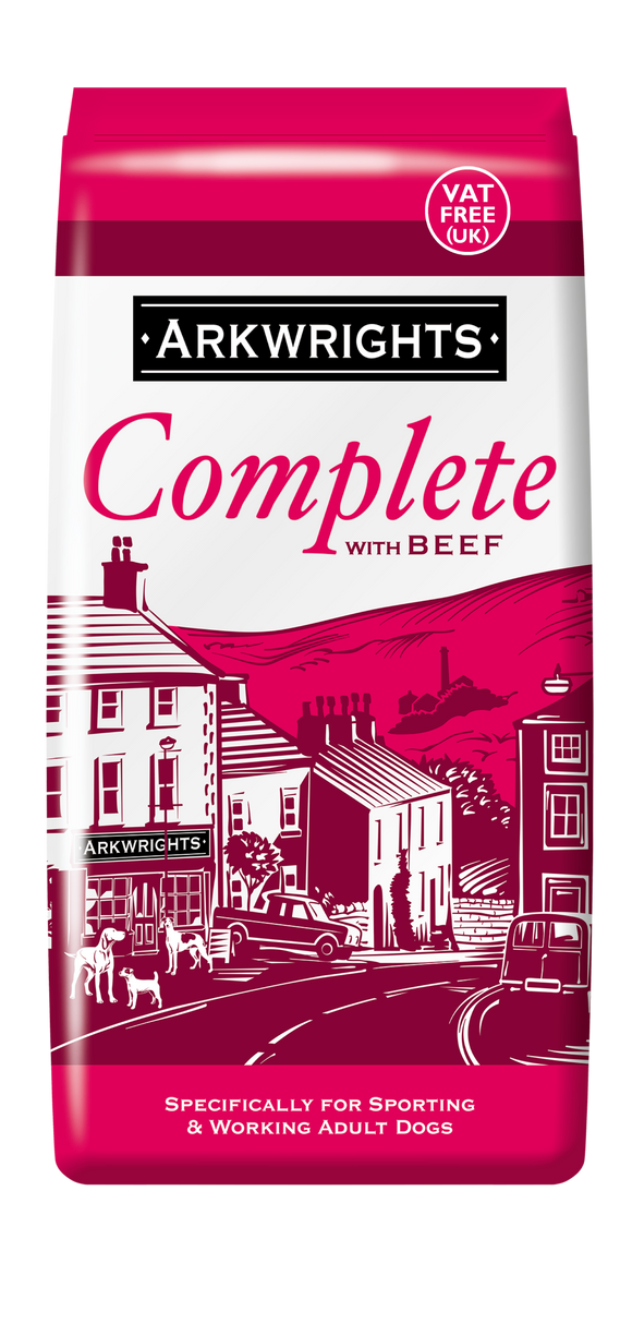 Arkwrights Beef Complete Dog Food 15kg