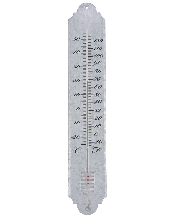 Fallen Fruits Large Zinc Thermometer