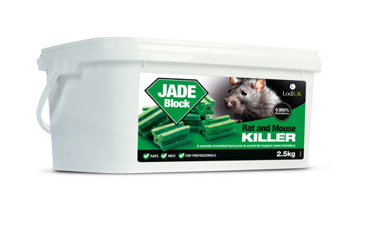 Lodi Jade Rat Bait Blocks 2.5kg