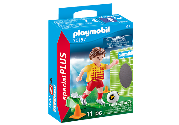 Playmobil Special Plus Football Player with Goal