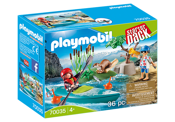 Playmobil Family Fun StarterPack Kayak Adventure