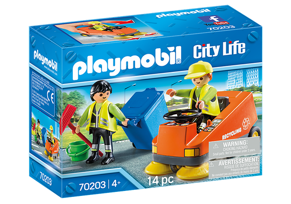 Playmobil City Life Street Sweeper