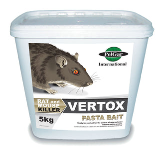 You added <b><u>Vertox Rodent Poison Pasta Bait 5kg</u></b> to your cart.