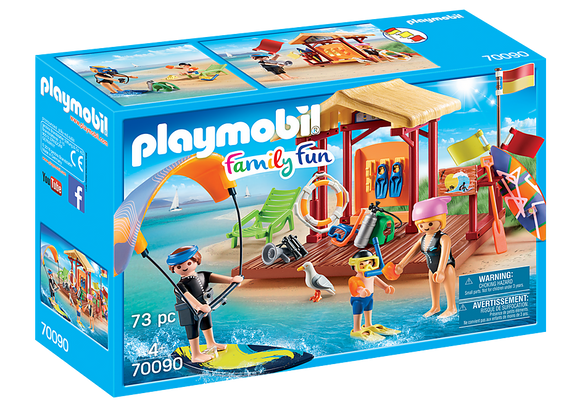 Playmobil Family Fun Water Sports Lesson