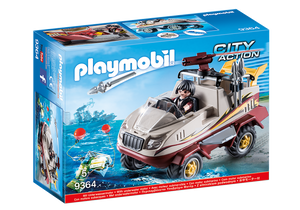 Playmobil City Action Amphibious Truck 9364